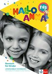 Hallo Anna - Ниво 1: Флашкарти + книга за учителя на CD-ROM Учебна система по немски език за деца -