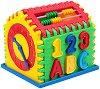 Сортер - Къщичка - Детска образователна играчка за сортиране -