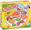 """Направи сам - Полезна закуска - Творчески комплект от серията """"Color Clay Series"""" -"""