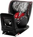 """Детско столче за кола - Dualfix M i-Size: Letter Design - За """"Isofix"""" система и деца от 3 месеца до 18 kg -"""