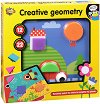 Мозайка - Creative geometry - Детски образователен комплект -