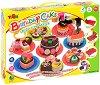 """Направи сам - Торти за рожден ден - Творчески комплект от серията """"Color Clay Series"""" -"""