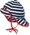 Бебешка шапка с UV защита - За бебета от 5 до 6 месеца -
