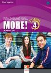 MORE! - ниво 4 (B1): 3 CD с аудиоматериали Second Edition -