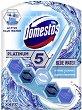 Ароматизатор за тоалетна с аромат океан - Domestos Platinum 5 -