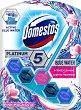 Ароматизатор за тоалетна с аромат на розова магнолия - Domestos Platinum 5 - Опаковки от 1 ÷ 2 броя -