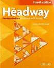 New Headway - Pre-Intermediate (A2 - B1): Учебна тетрадка по английски език - учебник