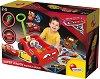 Супер кола - Детска играчка за бутане с аксесоари -