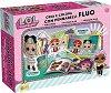 Оцветявай и се забавлявай с L.O.L. Surprise - Творчески комплект с флуоминесцентни маркери -