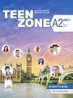Teen Zone - ниво A2 (Part 1): Учебник по английски език за 11. клас - учебна тетрадка