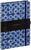 Castelli: Луксозен тефтер с ластик - С размери 13 x 21 cm -