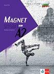 Magnet Smart - ниво A2: Учебна тетрадка по немски език за 12. клас + CD - Giorgio Motta -