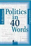 Politics in 40 Words. A Dictionary - Evgenii Dainov -