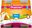 Plasmon - Сок от круши - Опаковка от 4 бутилки x 125 ml за бебета над 4 месеца -