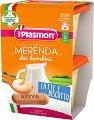 Plasmon - Млечен десерт с бишкоти - Опаковка от 2 х 120 g за бебета над 6 месеца -
