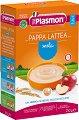 Plasmon - Инстантна млечна каша с ябълки - Опаковка от 250 g за бебета над 4 месеца -