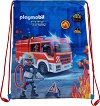 Спортна торба - Playmobil: Firefighters -