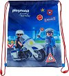 Спортна торба - Playmobil: Police -