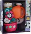 Цвете - Комплект играчки за баня -