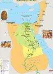 Стенна карта: Древен Египет IV - II хил. пр. Хр. -