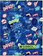 Папка с ластик - Gabol: Bang - Формат А4 -