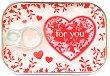 Картичка-консерва - Heart for you - картичка