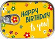 Картичка-консерва - Happy Birthday To You - картичка