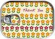 Картичка-консерва - Thank you Flowers -