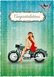 Поздравителна картичка - Congratulations -