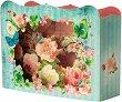 Поздравителна 3D картичка - Цветя - картичка