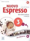 Nuovo Espresso - ниво 3 (B1): Комплект от учебник и учебна тетрадка по италиански език + електронен учебник - Maria Bali, Luciana Ziglio -