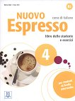 Nuovo Espresso - ниво 4 (B2): Комплект от учебник и учебна тетрадка по италиански език + CD - Maria Bali, Irene Dei -