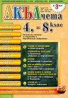 Акълчета: 4., 5., 6., 7. и 8. клас : Национално списание за подготовка и образователна информация - Брой 55 - табло