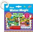 Оцветявай с вода - Животните от фермата - Творчески комплект с магически маркер -