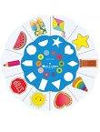 Златно ключе: Магически кръг на фигурите и формите - автодидактична игра за всички възрастови групи -