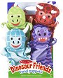 Кукли за куклен театър - Динозаври - Комплект от 4 броя -