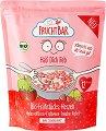FruchtBar - Био зърнена закуска с ягода - Опаковка от 125 g за бебета над 12 месеца -