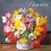 Стенен календар - Flowers 2021 -