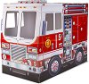 Пожарна кола - 3D картонен модел за игра -