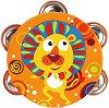 Тамбурина - Лъв - Детски музикален инструмент -
