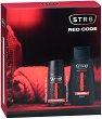 Подаръчен комплект за мъже - STR8 Red Code - Дезодорант и душ гел -