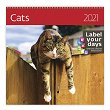 Стенен календар - Cats 2021 - календар