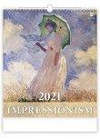Стенен календар - Impressionism 2021 - календар