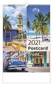 Стенен календар - Postcard from... 2021 -
