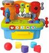 Сортер - Работилница - Детска образователна играчка за сортиране : със светлинни и звукови ефекти -