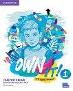 Own it! - ниво 1 (A1+): Книга за учителя по английски език + онлайн материали - Alice Copello -