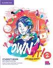 Own it! - ниво 2 (A2): Учебник по английски език + допълнителни материали - Andrew Reid, Claire Thacker, Stuart Cochrane, Daniel Vincent -
