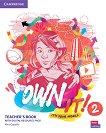 Own it! - ниво 2 (A2): Книга за учителя по английски език + онлайн материали -