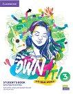 Own it! - ниво 3 (B1): Учебник по английски език + допълнителни материали - учебник