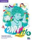 Own it! - ниво 4 (B1+): Книга за учителя по английски език - книга за учителя